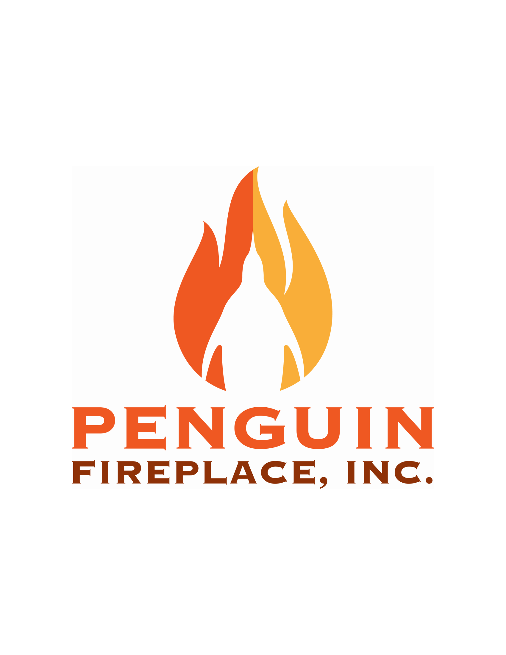 Penguin Fireplace