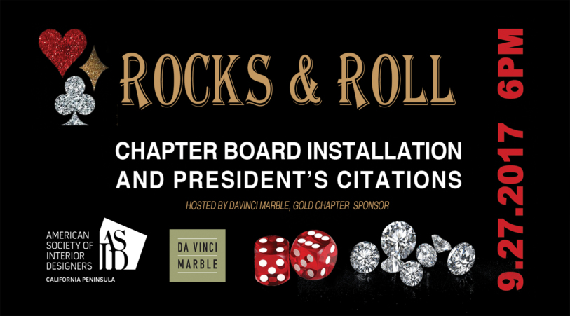Rock & Roll - Chapter Board Installation and President's Citations